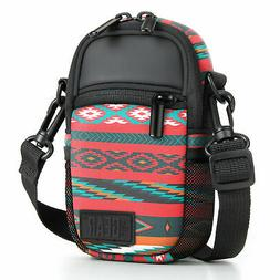 Compact Camera Bag by USA Gear with Rain Cover and Shoulder
