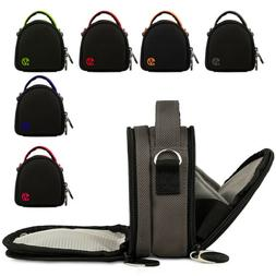 Mini Compact Camera Shoulder Bag Carrying Case For Canon Pow