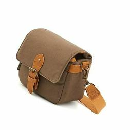 Compact SLR Camera Shoulder Bag Evecase Small Canvas Shoulde