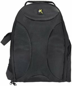 Xit Deluxe Digital Camera/Video Padded Backpack w/ Dividers