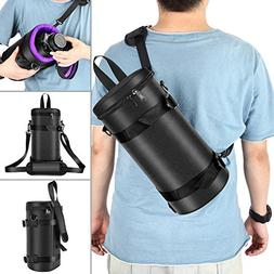 Neewer Deluxe Padded Camera Lens Pouch Case with Sling Belt
