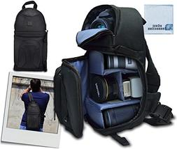 Deluxe Digital Camera/Video Sling Style Shoulder Bag for Can