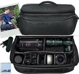 DSLR and Lens Camera Bag Case Shoulder Travel Case Heavy Dut