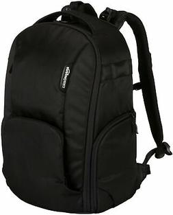 AmazonBasics DSLR Camera and Laptop Backpack Bag - 19 x 9 x