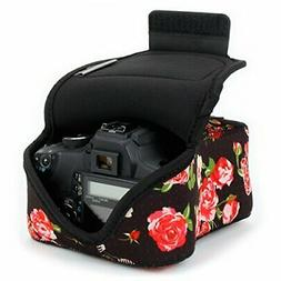 USA GEAR DSLR Camera Case/SLR Camera Sleeve  with Neoprene P