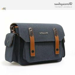 Herringbone DSLR Camera Shoulder Bag Papas Medium Navy For D