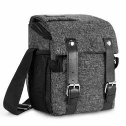 DSLR SLR Camera Shoulder Bag Waterproof Shockproof Messenger