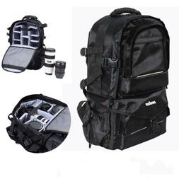 Durable Extra Large Camera DSLR/SLR Backpack Waterproof Outd