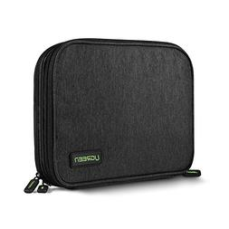 UGREEN Electronic Organizer, Double Layer Travel Gadget Bag