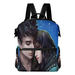 Embrace Love Wallpaper At Night Backpack Womens Laptop Daypa