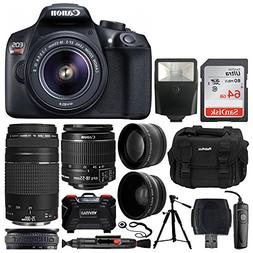 Canon EOS Rebel T6 Digital SLR Camera + EF-S 18-55mm f/3.5-5