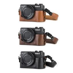 "MegaGear ""Ever Ready"" Leather Camera Case for Canon PowerSho"
