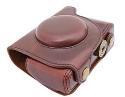 PDXD-share Ever Ready Protective PU Leather Camera Case, Bag