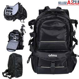 Extra Large Digital Camera Shoulder Backpack SLR DSLR Bag fo