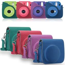 Fabric Camera Case Bag Cover with Strap for Fujifilm Instax