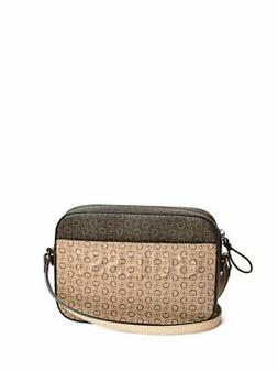 GUESS Factory Women's Rigden Logo-Print Camera Bag