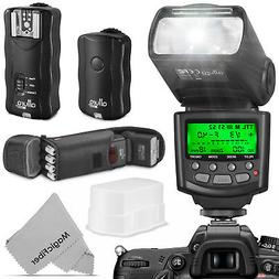 Professional Flash Kit for NIKON DSLR - 2 I-TTL Flash & Trig