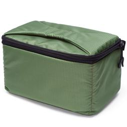 G-raphy Camera Insert Bag with Sleeve Camera Case Army Green