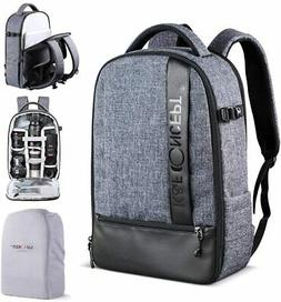 Large Camera Backpack Bag Laptop Waterproof for Canon Nikon