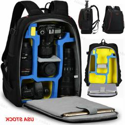 K7 Large Durable Camera Bag Backpack For Canon Nikon Sony Pe