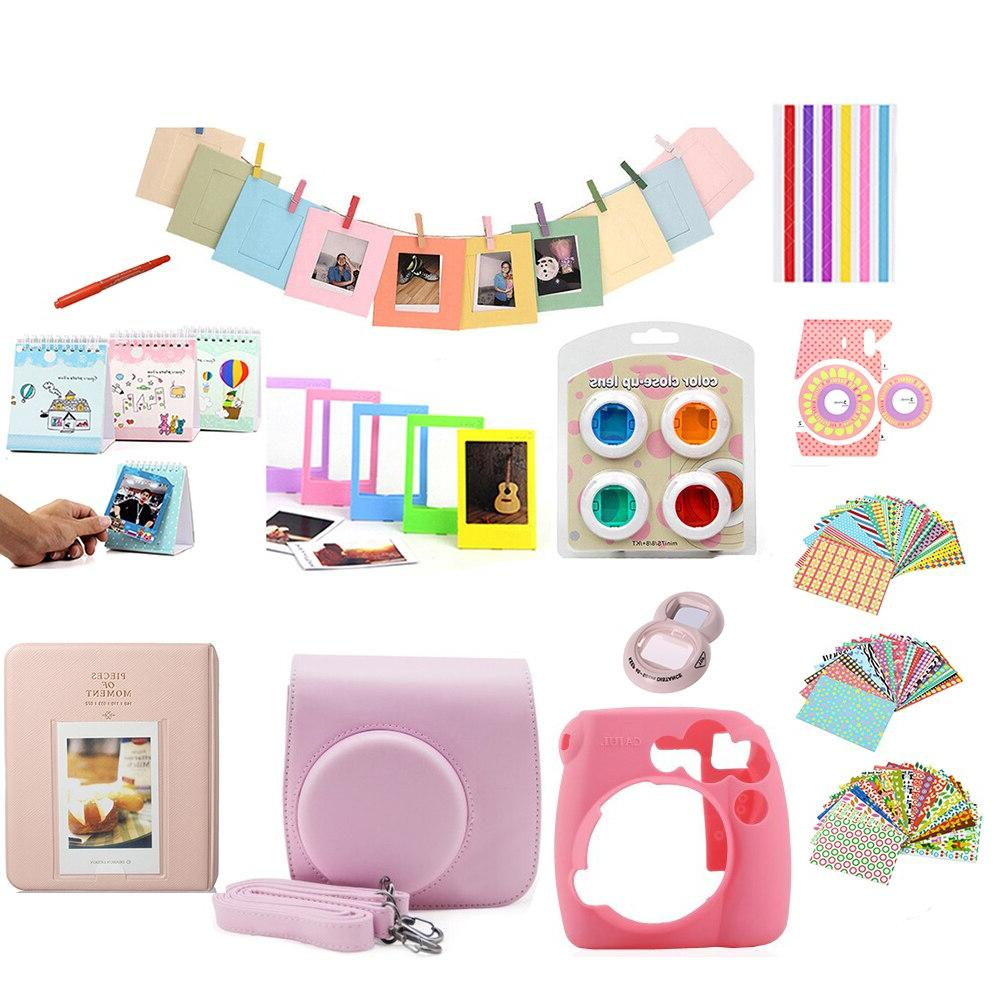 12 <font><b>Kit</b></font> Instax <font><b>Bag</b></font> Case Protector Accessories