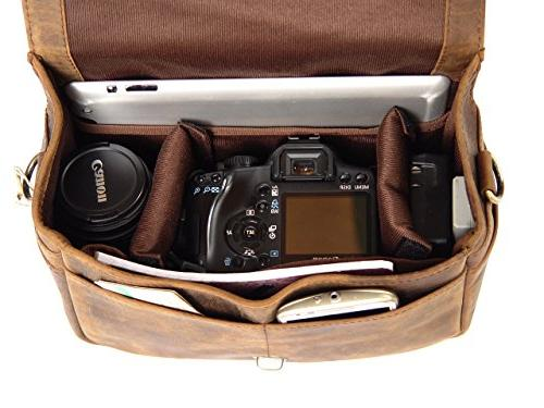 Basic Gear: Bag in Look for DSLR- Sony, Nikon, Canon, Camera.