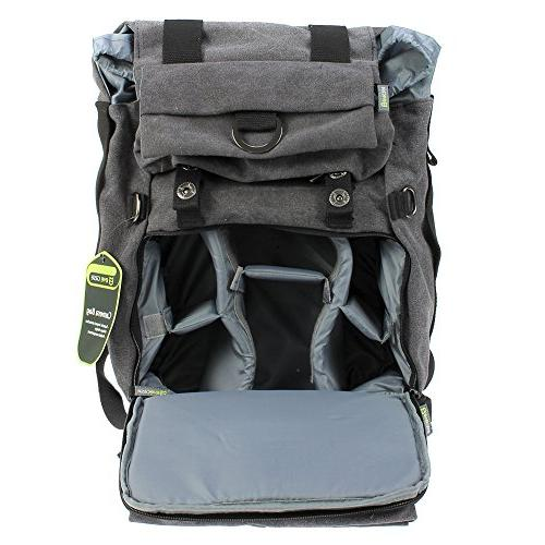Camera DSLR Camera Travel with inch Laptop/Tablet Compartment interchangeable Lens, Mirrorless, Film Camera