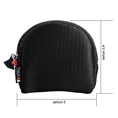 Camera Case for Round Up to 82mm,Water-Resistant Lycra Design Lens Pouch