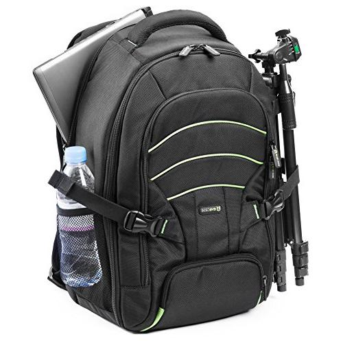 Backpack, Laptop Large Waterproof Tripod Cover Canon Nikon Lens and Photography Accessories
