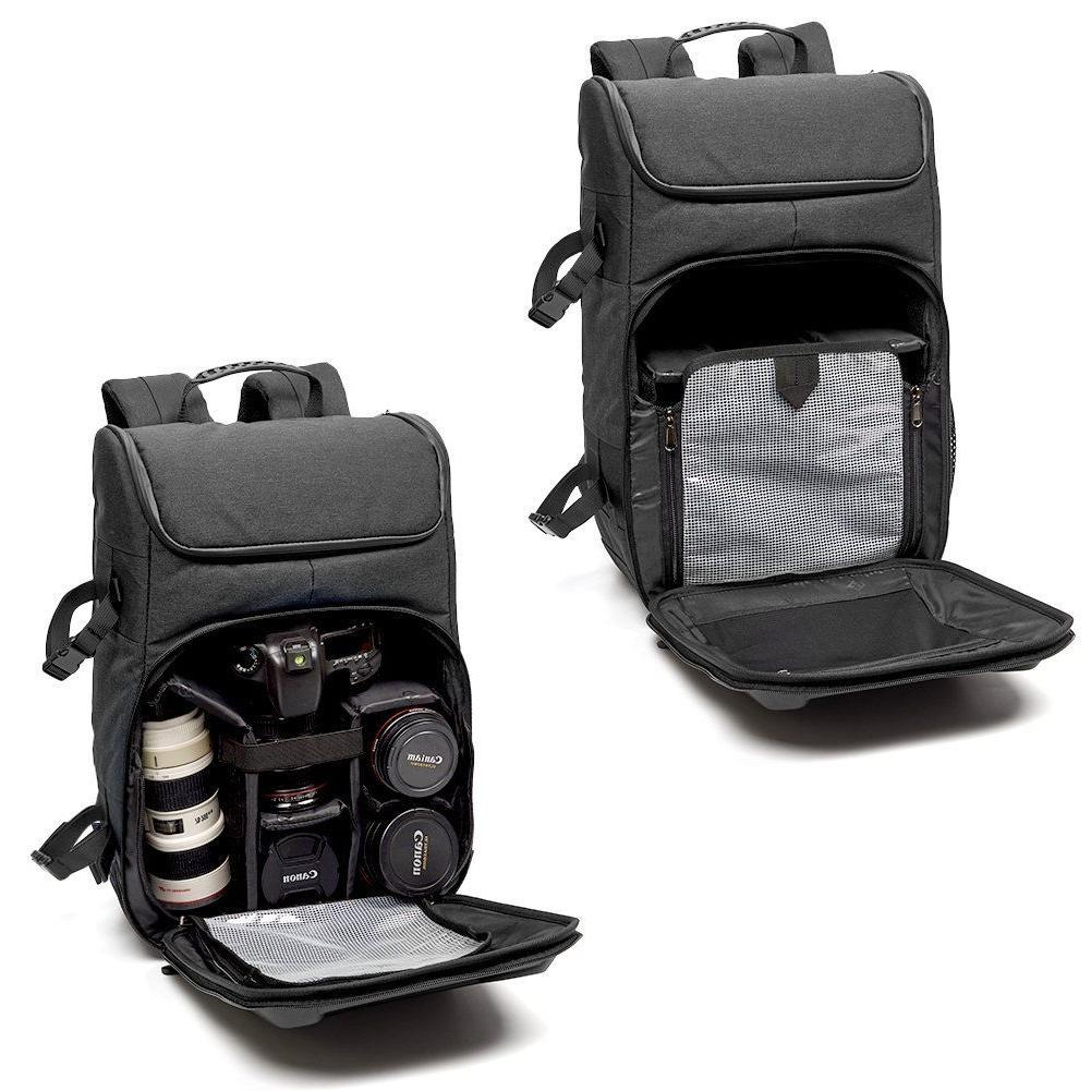 Evecase Hard Shell Camera with Tripod
