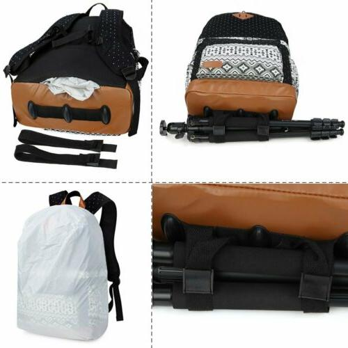 "Koolertron Camera Padding 15"" Laptop Backpack"