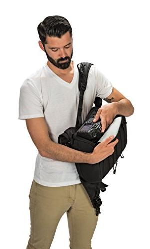 """Lowepro ProTactic 350 AW - A Professional Backpack for 1-2 Pro DSLR 13"""" Laptop"""