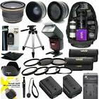 SONY ALPHA A6000 COMPLETE HD 40.5MM ACCESSORIES KIT LENSES T