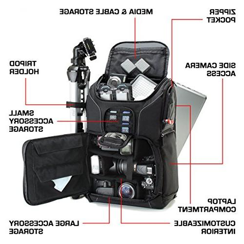 USA Digital Camera Compartment Custom Dividers, Holder, Cover. Long-Lasting Storage Pockets w/Many Cameras