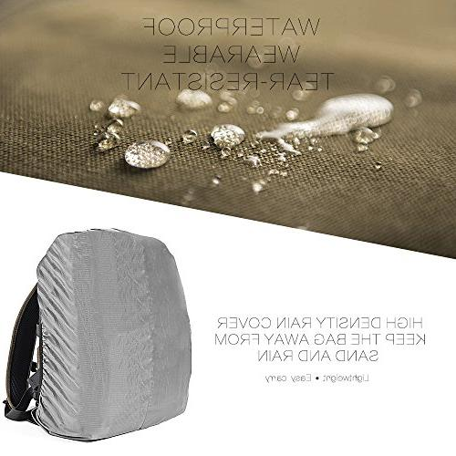 Canvas Bag for and Digital Rain Cover-Green