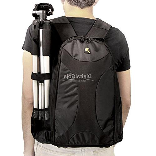 Travel Camera Backpack for Canon EOS Rebel Sony