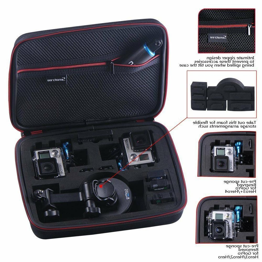 Smatree Black G260SL Case Bag Hero 6 4 GoPro HERO 2018