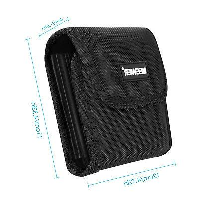Neewer Black Camera Filter Pouch Circular or Square