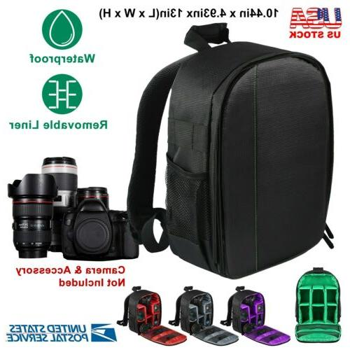 camera backpack bag fit canon eos sony