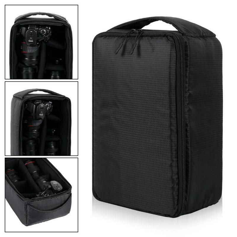 Camera Insert Carry Case Partition DSLR Canon Sony