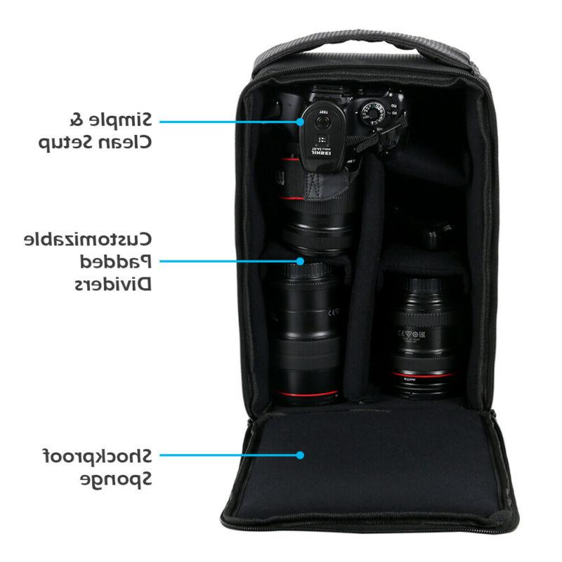 Camera Carry Partition For DSLR SLR Canon Sony