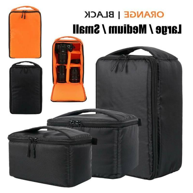 camera bag padded insert carry case partition