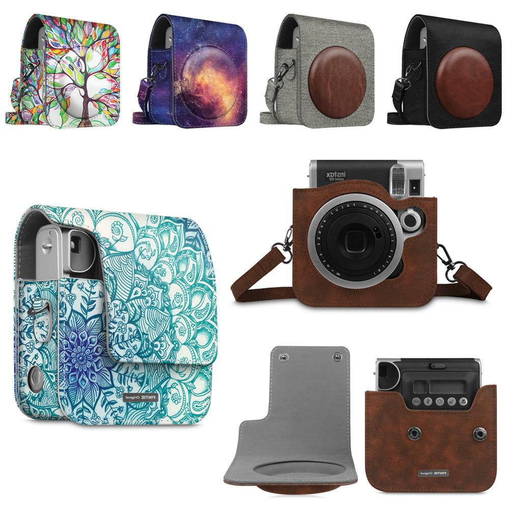 camera pu leather bag case for fujifilm