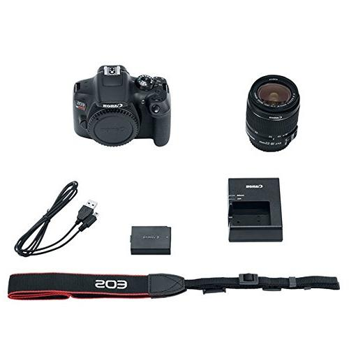 Canon EOS Rebel T6 DSLR Camera with 18-55mm