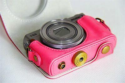 Canon PowerShot Case, Leather Camera Cas... New
