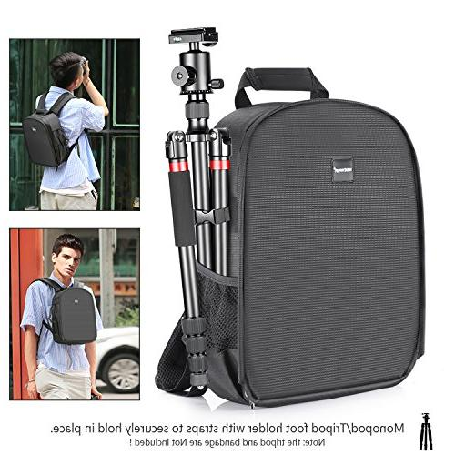 Neewer Shockproof Camera Bag Tripod Holder Mirrorless Camera, Other Accessories