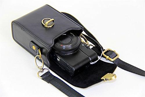 BolinUS Digital Camera Case with Strap G7X Mark II G1X2 G15 G16 SX520 SX170 G11 G12