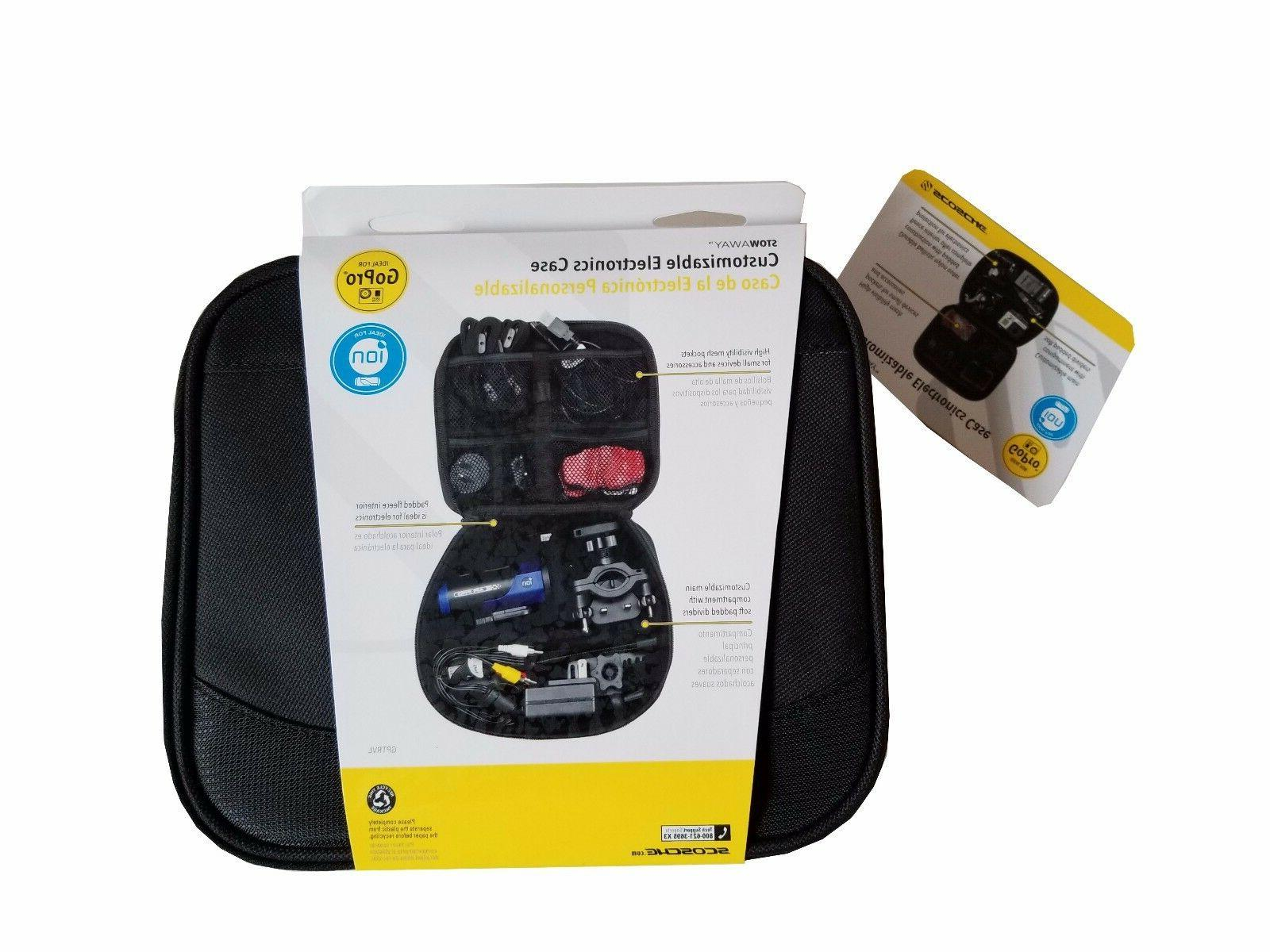 NEW Customizable Electronics Padded Travel Case Digital Camera & Accessories