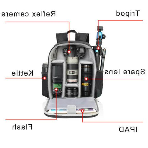 CADeN Bag Backpack for Camera Protection and