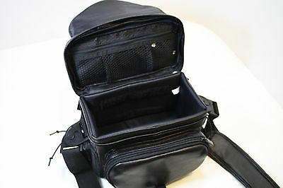 Deluxe Leather Bag For Nikon Canon !